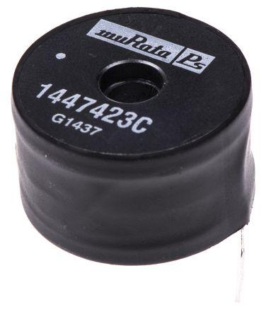 Murata Power Solutions Murata 470 μH ±10% Radial Inductor, Max SRF:2MHz, Q:34, 2.3A Idc, 222mΩ Rdc, 1400