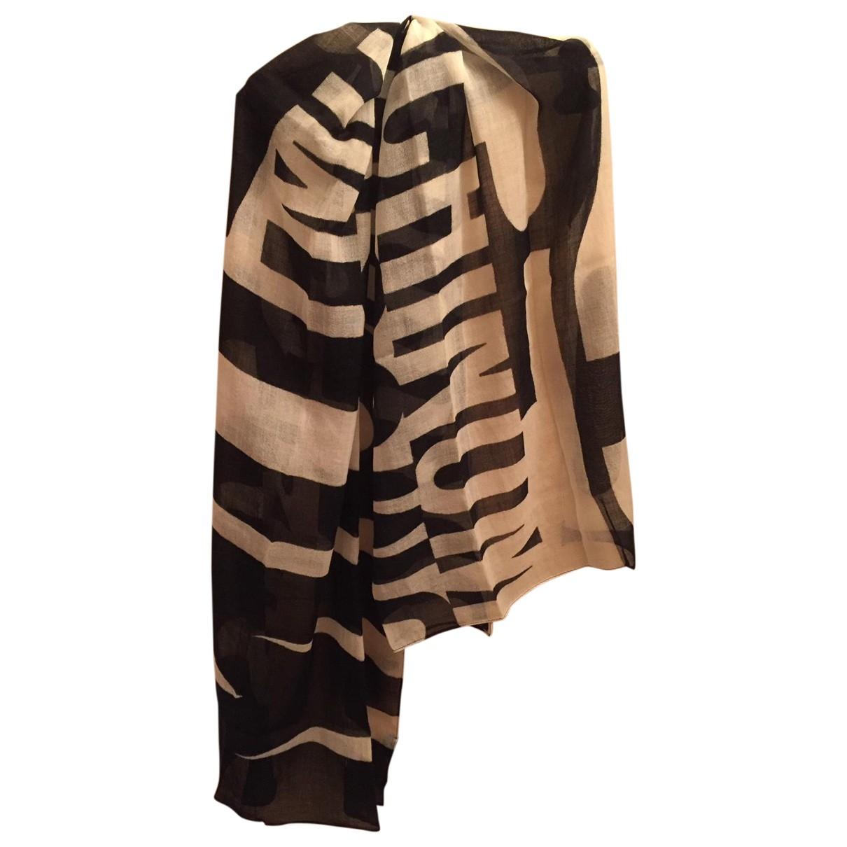 Moschino - Foulard   pour femme en laine - multicolore