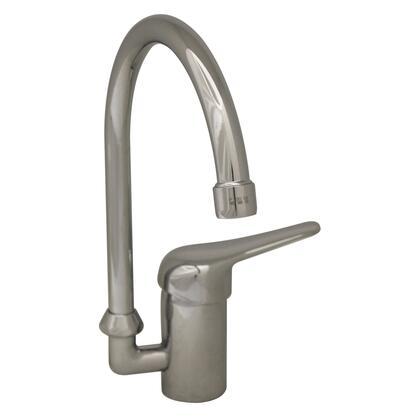 3-2851-C Flamingo III single hole/single lever handle entertainment/prep faucet with gooseneck swivel
