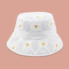 Sombrero cubo con malla