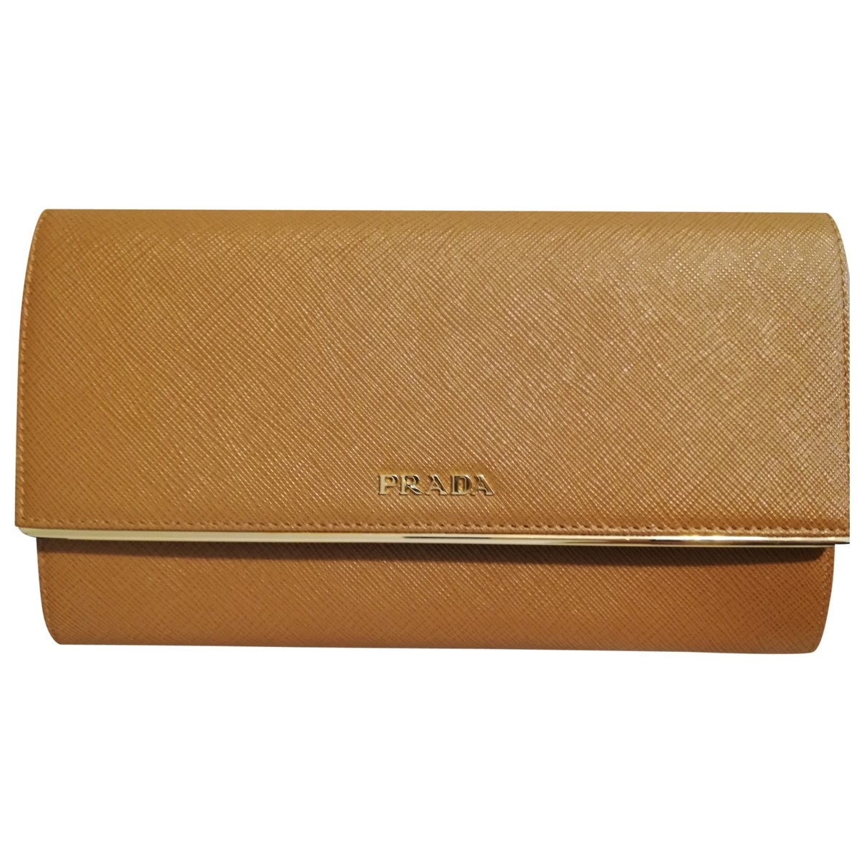 Prada \N Camel Leather wallet for Women \N