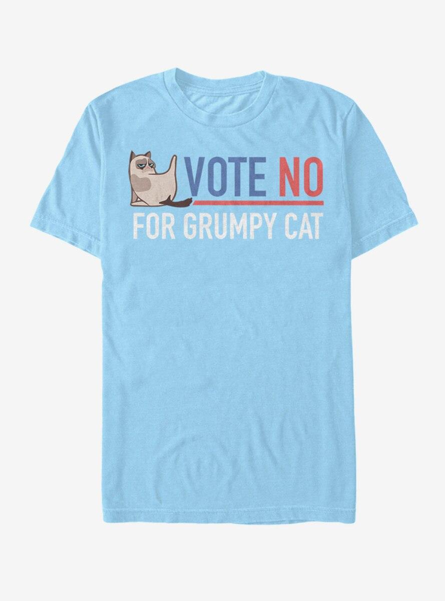 Grumpy Cat Election Vote No T-Shirt