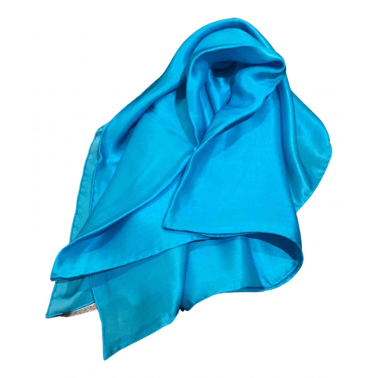 Ralph Lauren - Foulard   pour femme en soie - bleu
