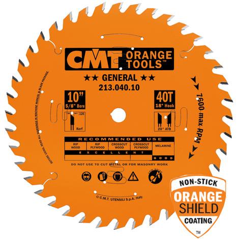 CMT Thin Kerf General 10#x40 5/8#