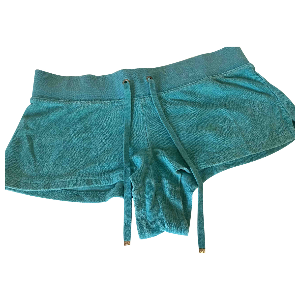 Juicy Couture \N Green Cotton Shorts for Women XS International