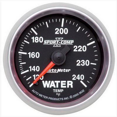 Auto Meter Sport-Comp II Mechanical Water Temperature Gauge - 3632