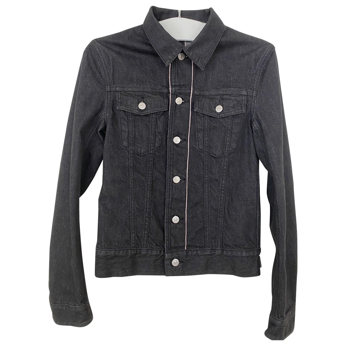 Dior Homme N Black Denim - Jeans jacket  for Men 44 FR