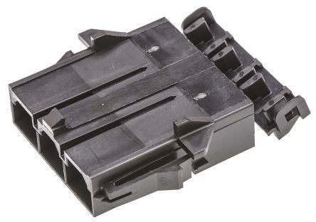 Molex , Mini-Fit Sr Male Connector Housing, 10mm Pitch, 3 Way, 1 Row