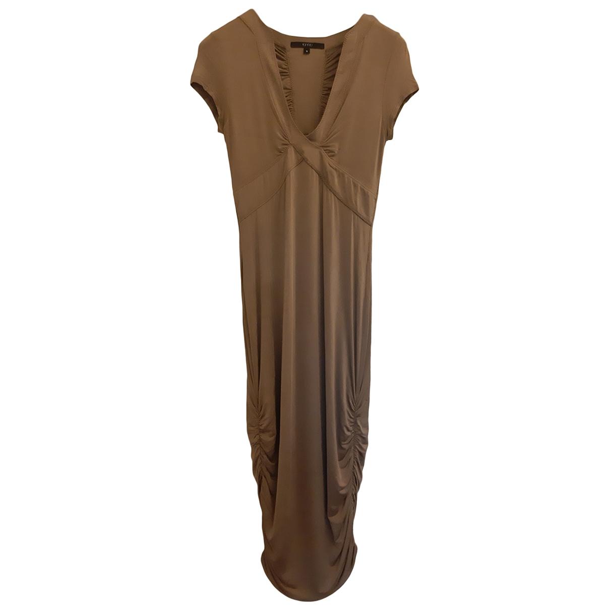 Gucci \N Kleid in  Grau Synthetik