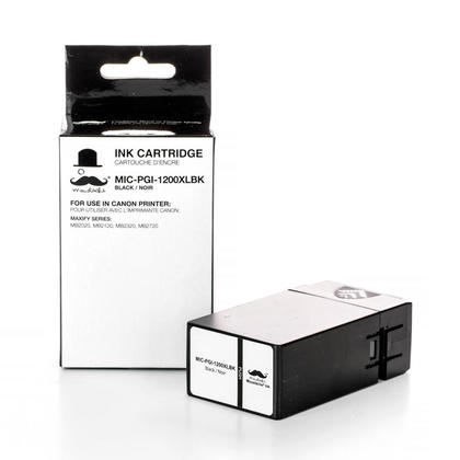 Compatible Canon MAXIFY MB2720 Black Pigment Ink Cartridge by Moustache, High Yield