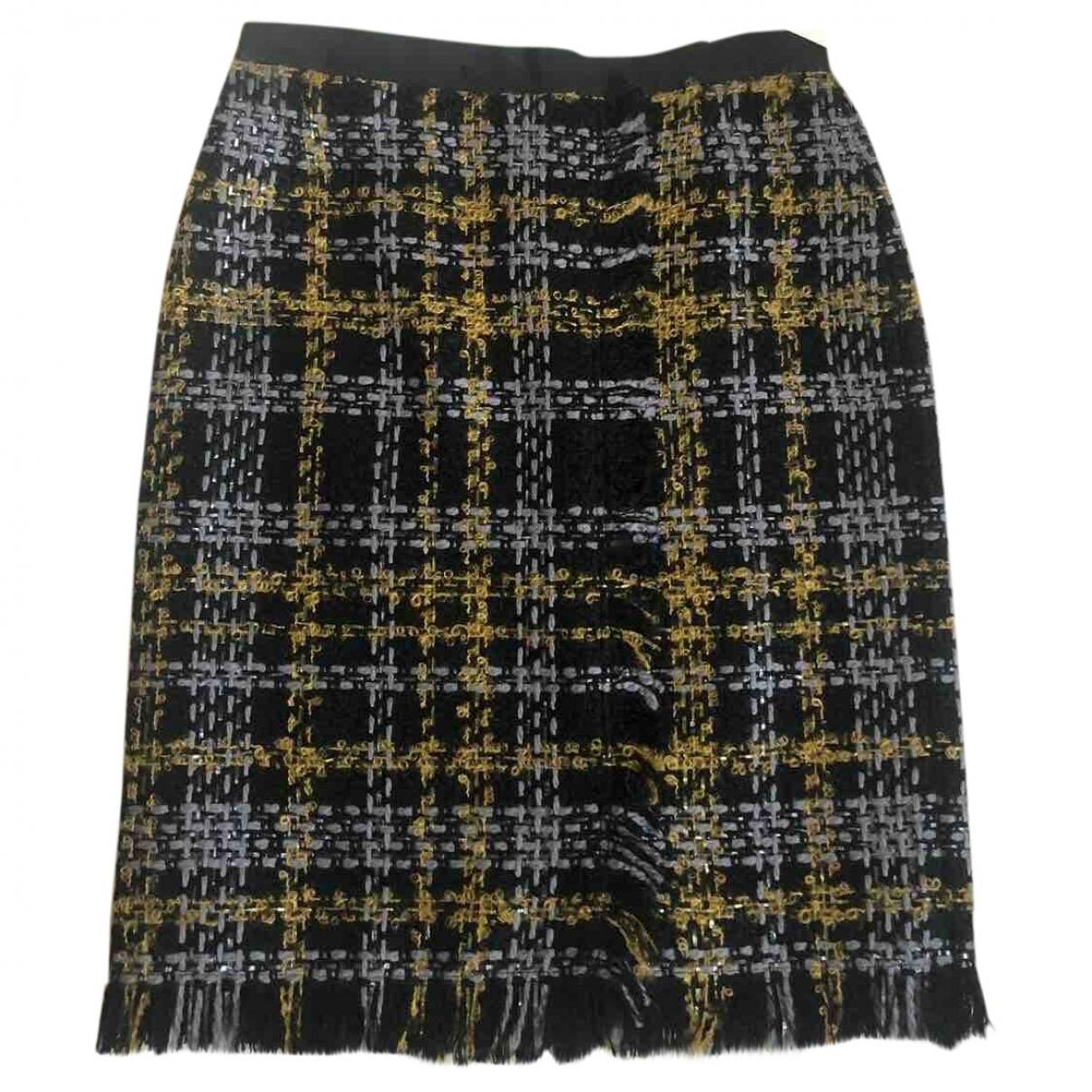 Erdem X H&m \N Black Tweed skirt for Women 40 FR