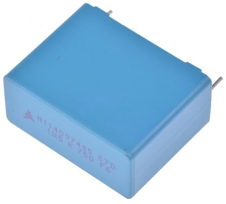 EPCOS 1.5μF Polypropylene Capacitor PP 750 V dc, 900 V dc ±10% Tolerance B32674 Series (5)