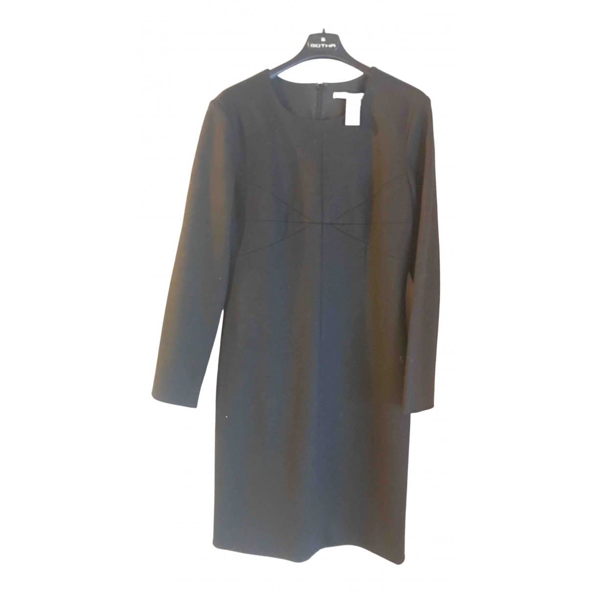 Diane Von Furstenberg - Robe   pour femme en laine - noir