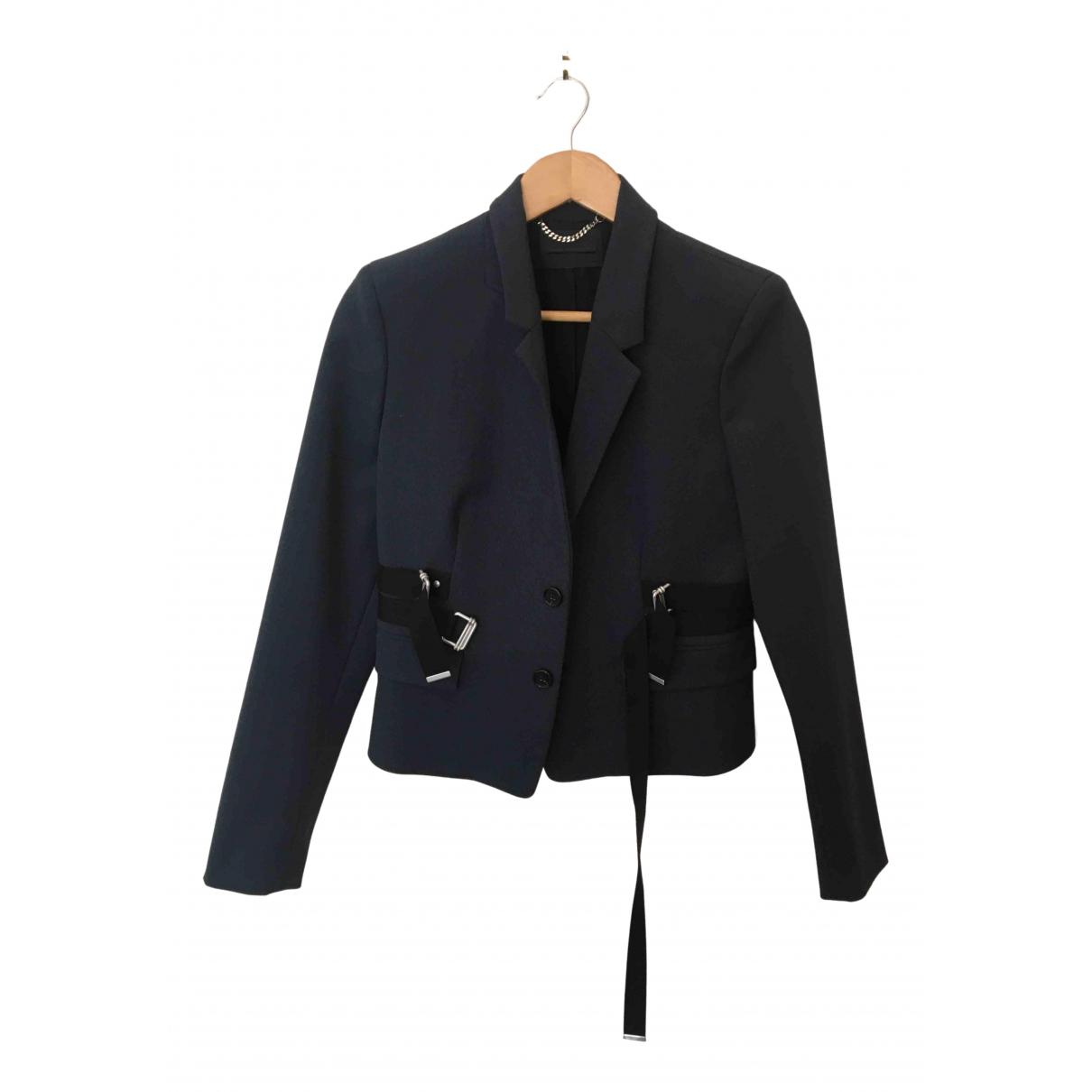 Diesel Black Gold \N Jacke in  Blau Wolle