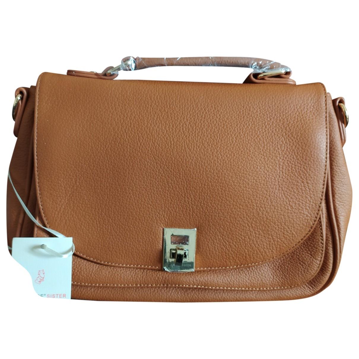 Paul & Joe \N Camel Leather handbag for Women \N