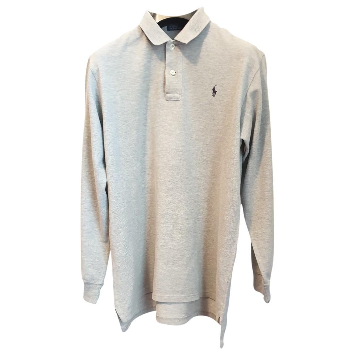 Polo Ralph Lauren - Polos   pour homme en coton - gris