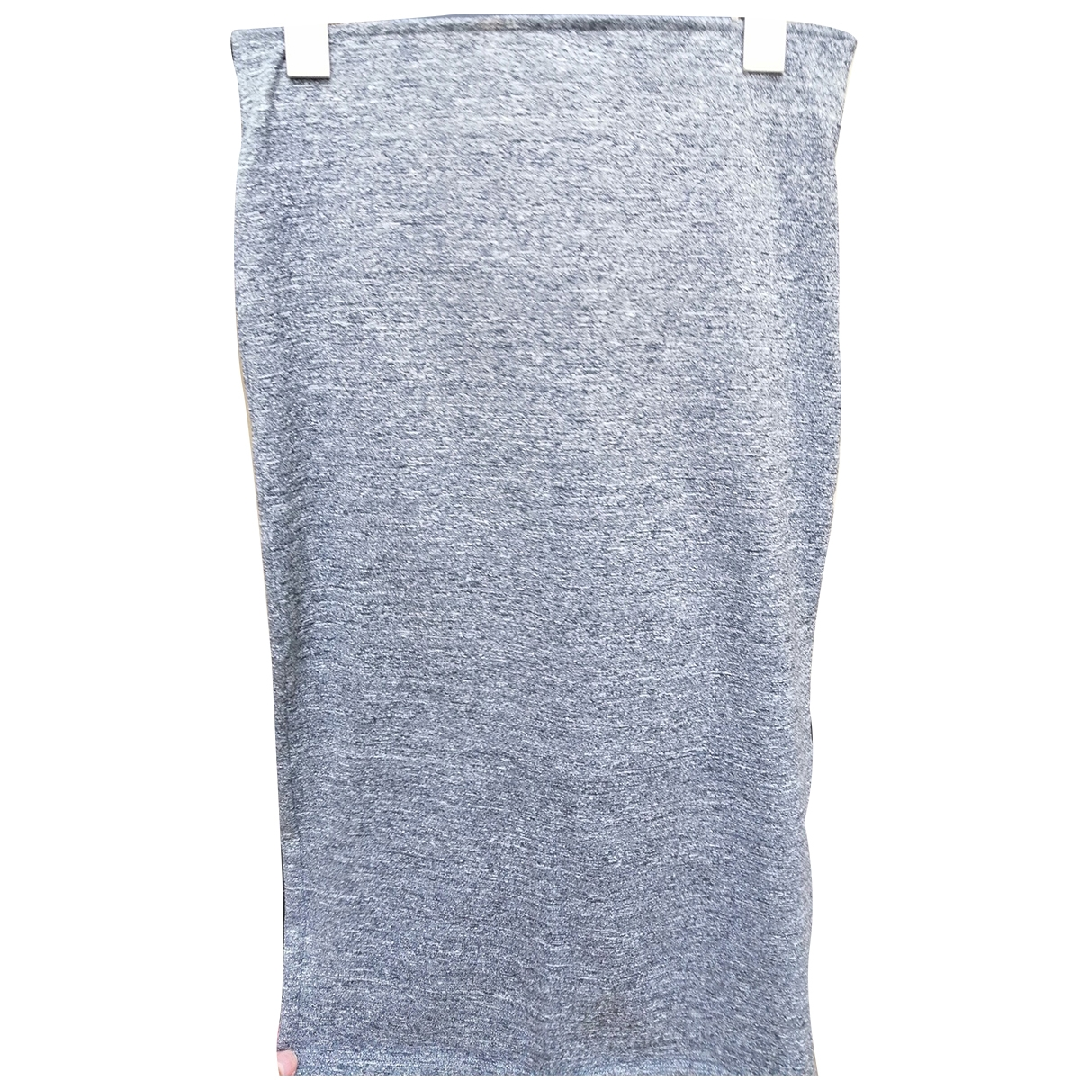 Calvin Klein \N Rocke in  Grau Baumwolle