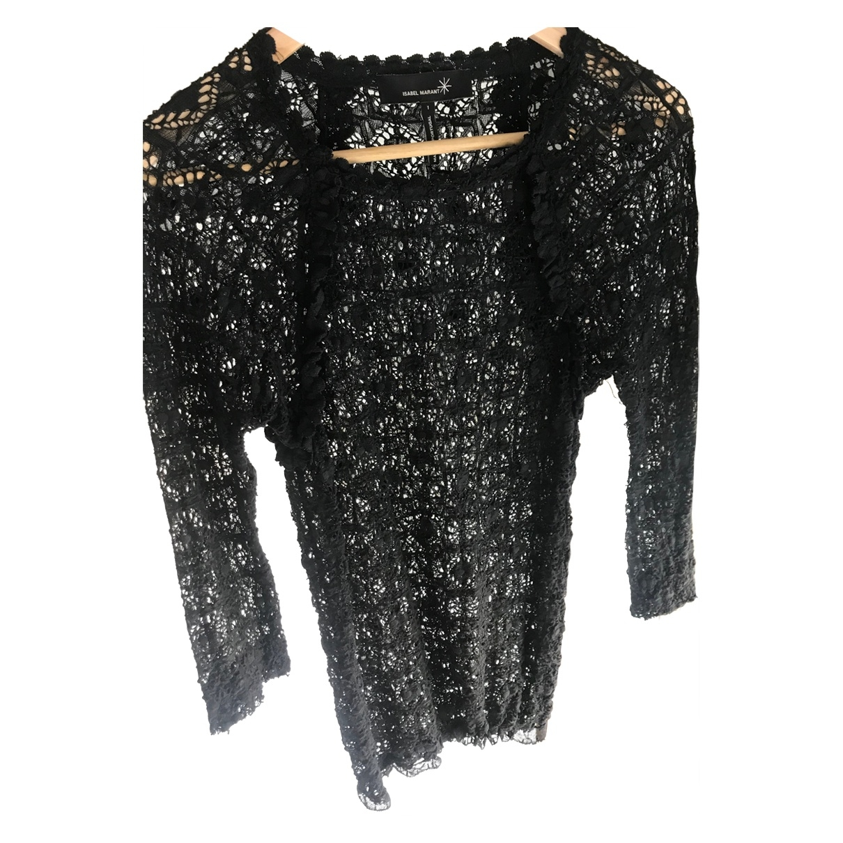 Isabel Marant \N Black Lace  top for Women 1 0-5