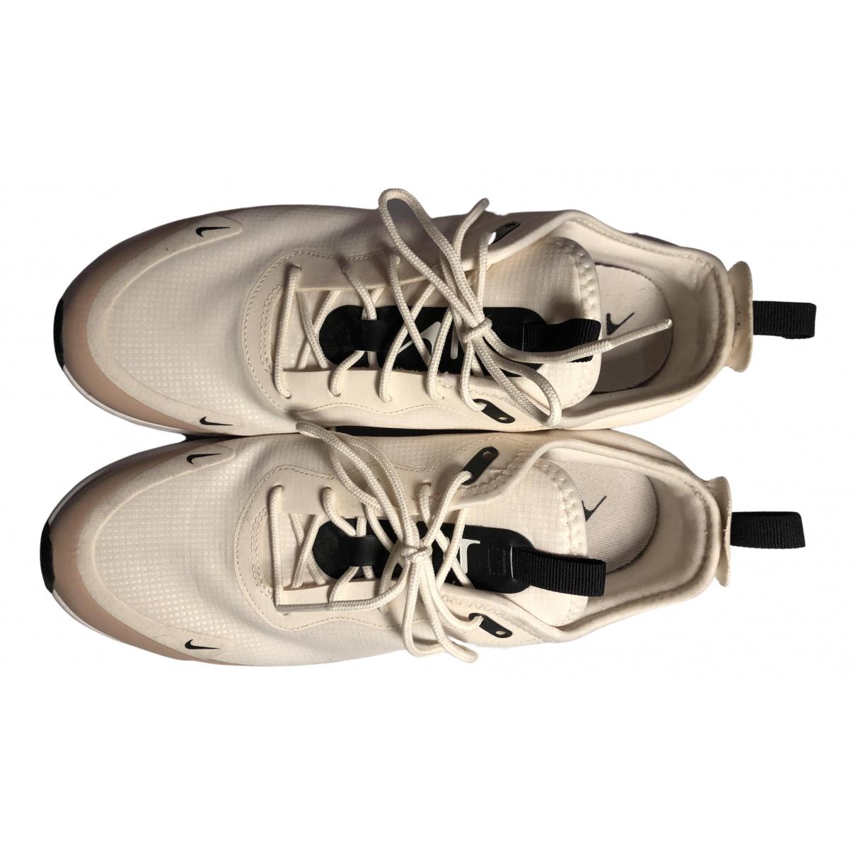 Nike Air Max  Sneakers in  Beige Kautschuk