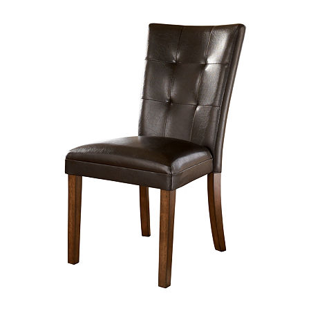 Signature Design by Ashley Lacey Set of 2 Side Chairs, One Size , Brown