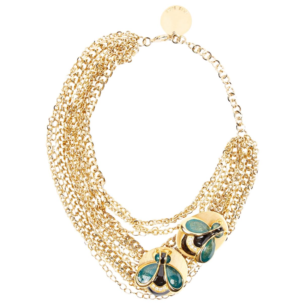 Elie Saab \N Kette in  Gold Metall