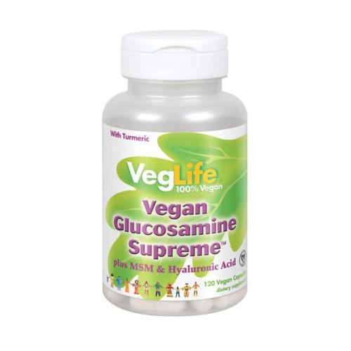 Glucosamine Supreme 60 Veg Caps by VegLife
