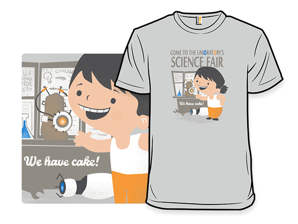 Science Fair T Shirt