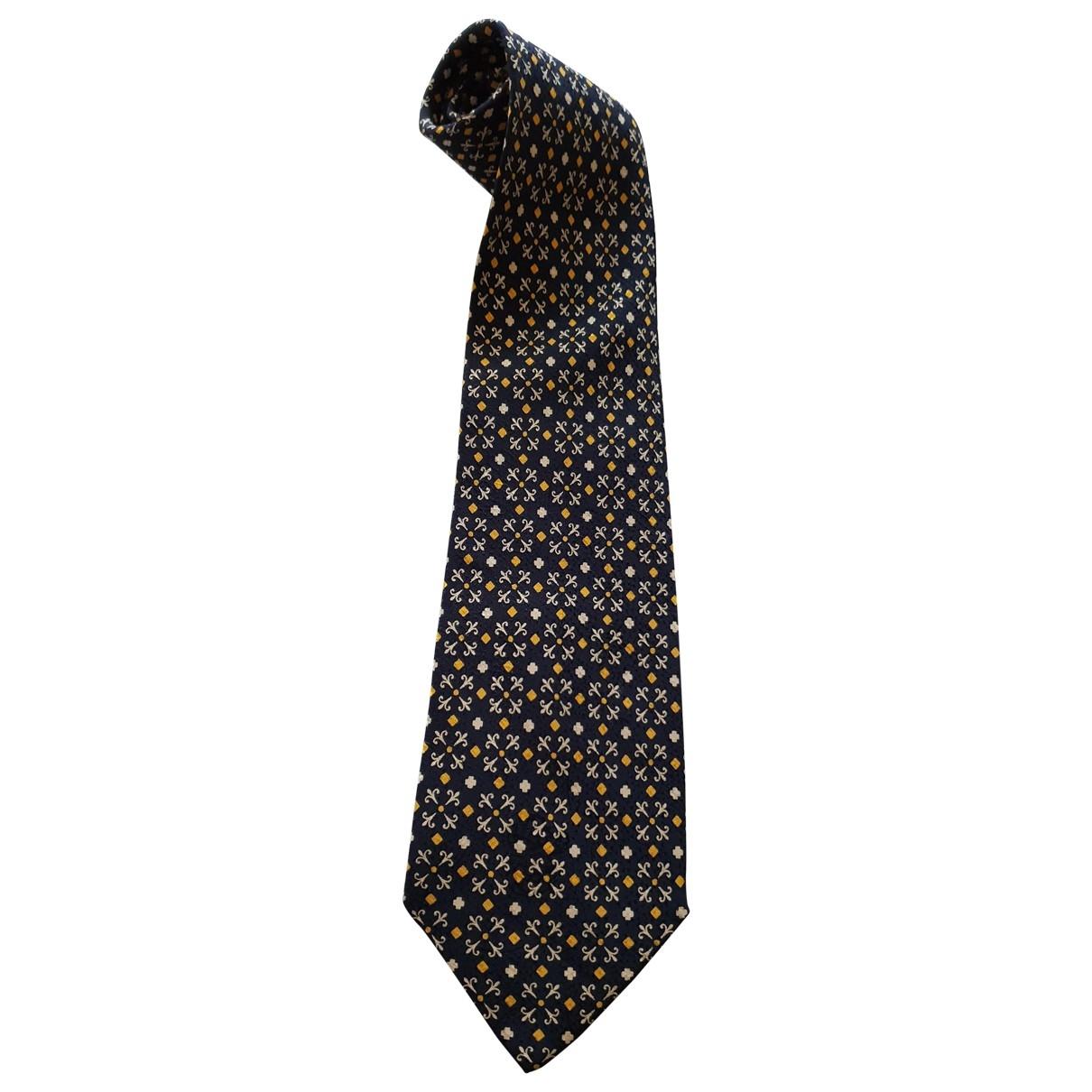Brioni \N Black Silk Ties for Men \N