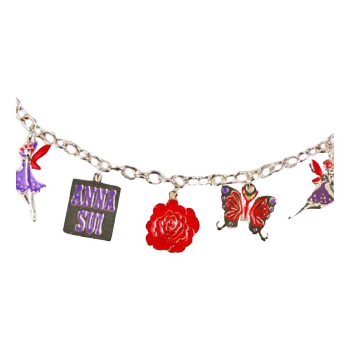 Anna Sui - Bracelet   pour femme en chaine - argente