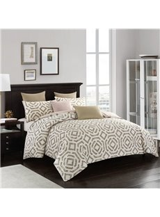 Farmhouse Style Soft And Cozy 3-Piece Polyester Classic Bedding Sets/Duvet Covers