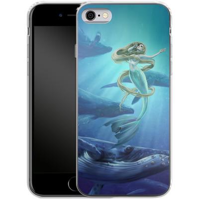 Apple iPhone 6s Silikon Handyhuelle - Ocean Song von Selina Fenech