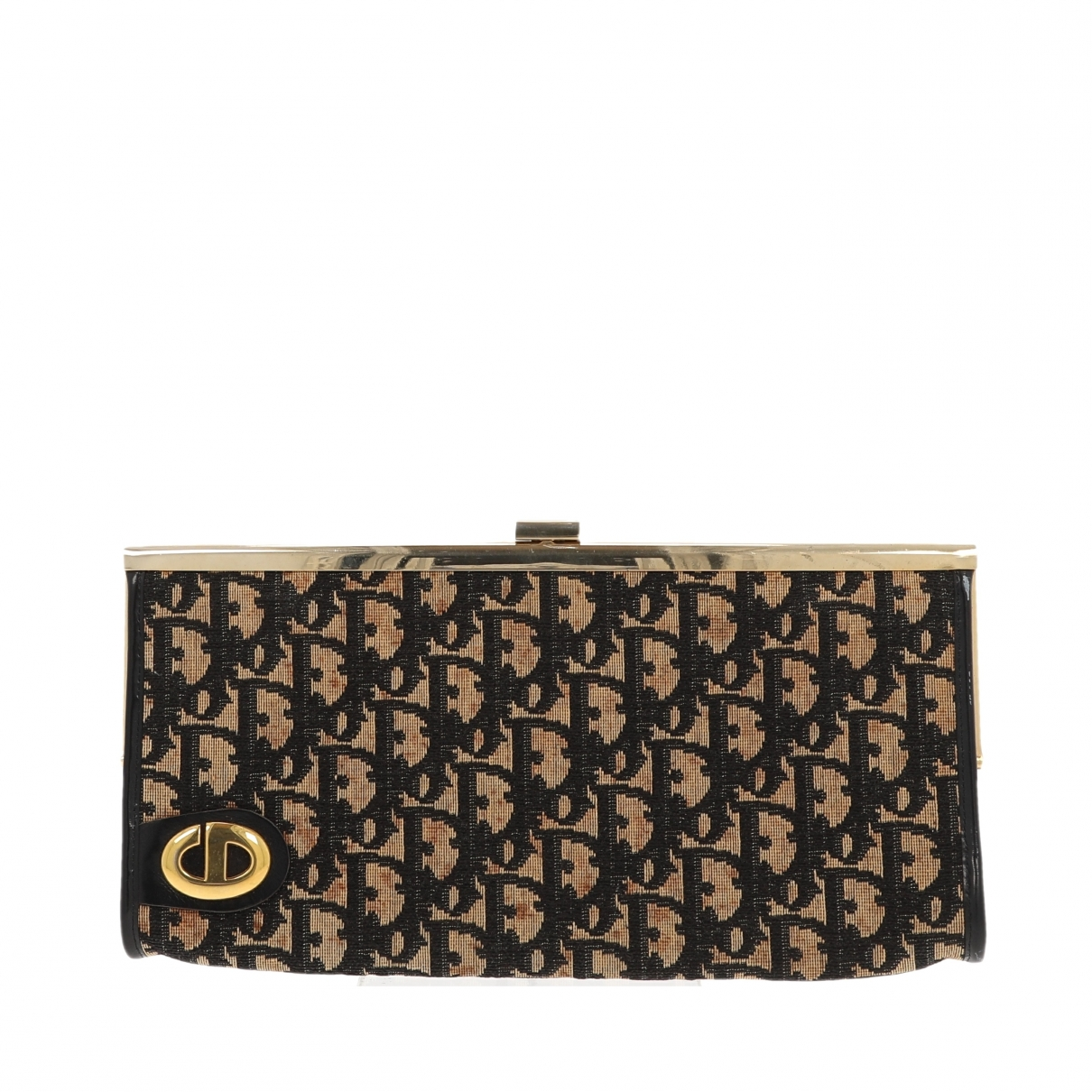 Christian Dior - Pochette   pour femme en denim - noir