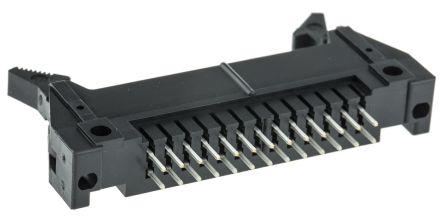 Hirose , HIF3BA, 26 Way, 2 Row, Straight PCB Header