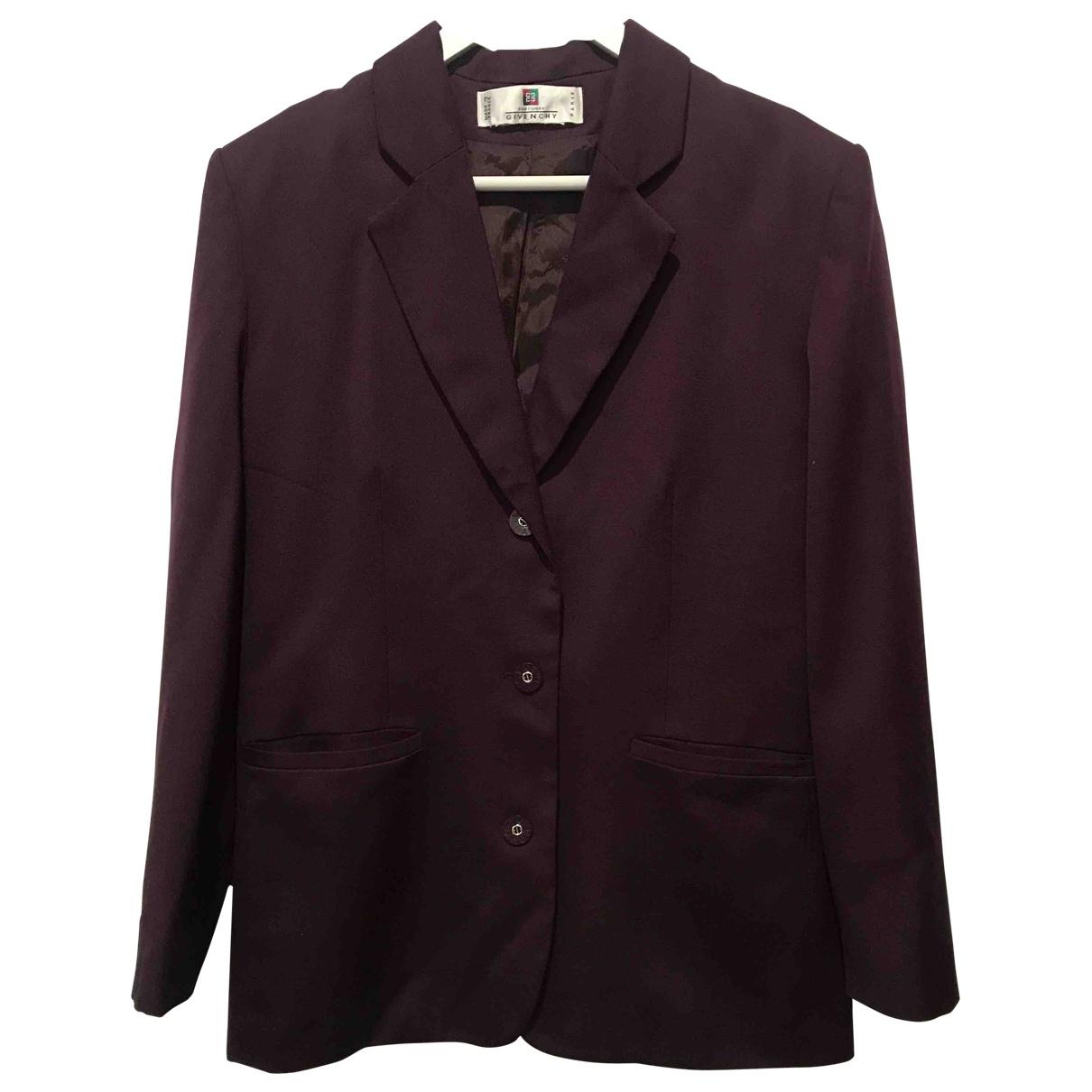 Givenchy - Veste   pour femme en laine - violet