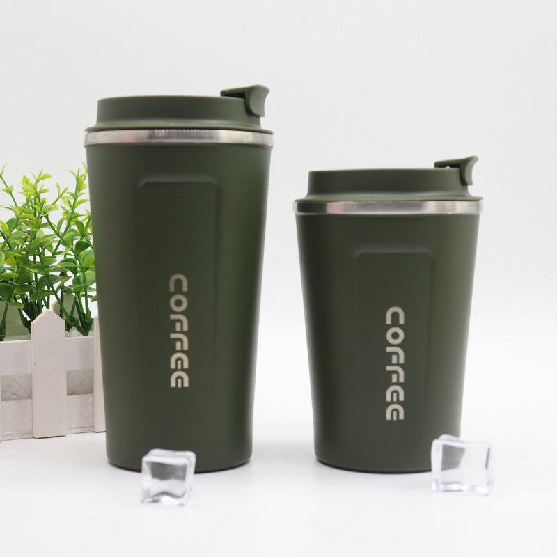 Business Style Top Quality Coffee Mug Double Vacuum Stainless Steel  Multi-function Vacuum Mug Stylish Office Water Mug Stainless
