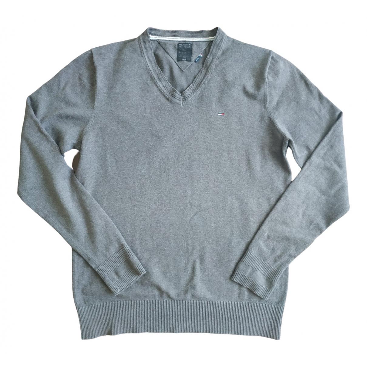 Tommy Hilfiger \N Pullover.Westen.Sweatshirts  in  Braun Baumwolle