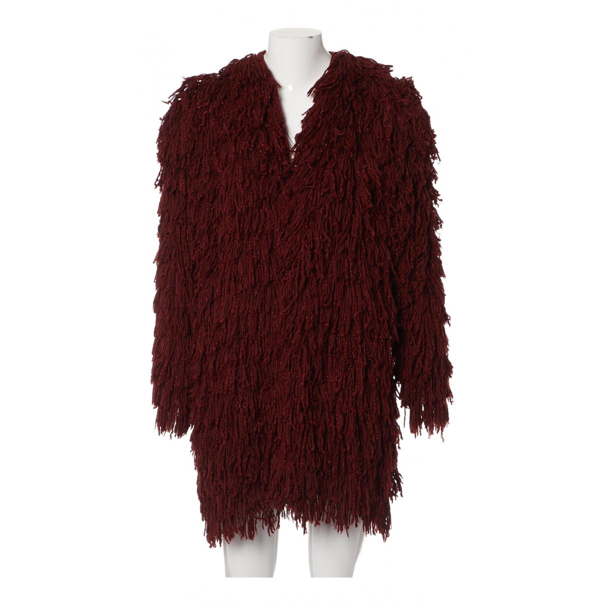 Isabel Marant N Burgundy Silk coat for Women M International