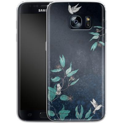 Samsung Galaxy S7 Silikon Handyhuelle - Tranquility von Stephanie Breeze