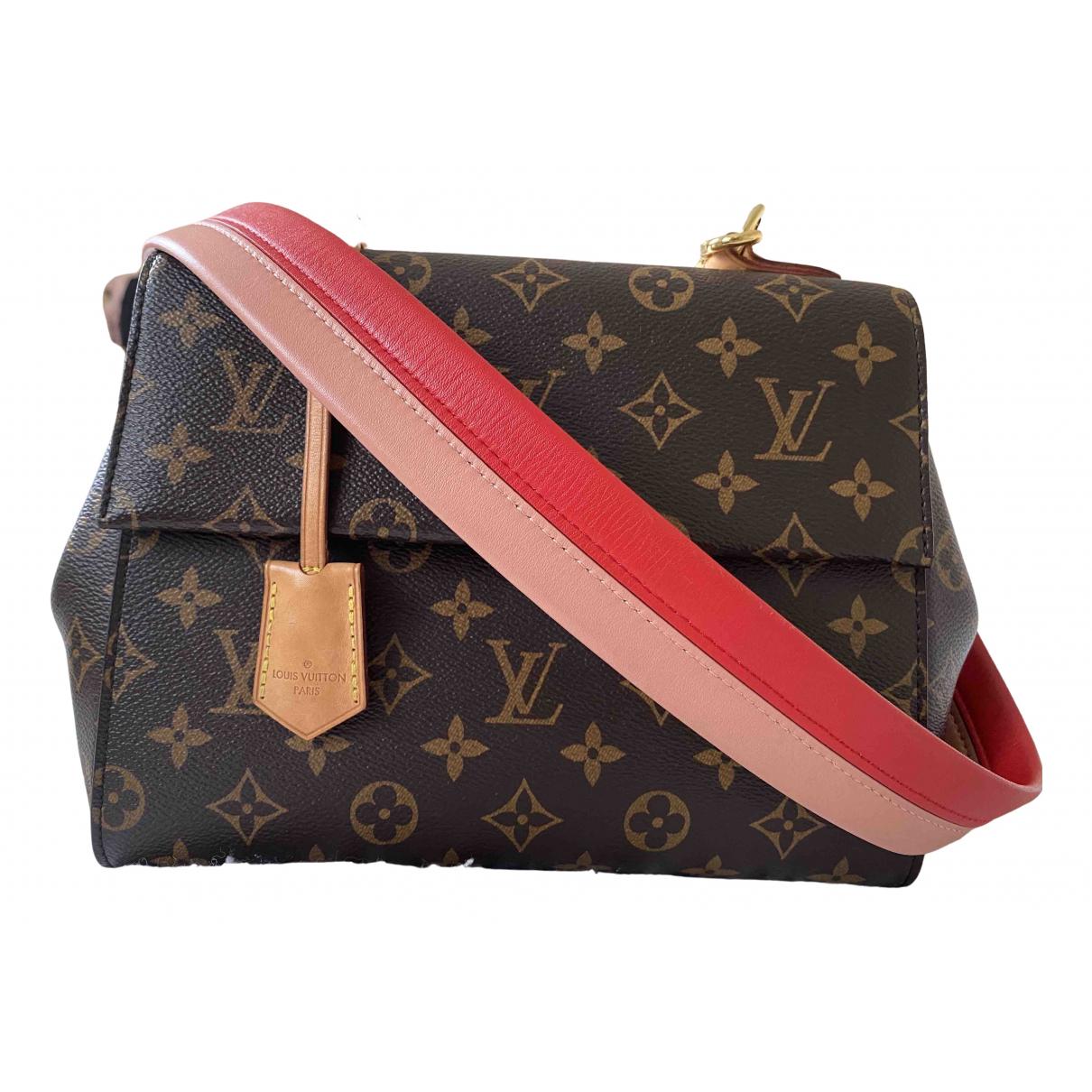 Louis Vuitton Cluny Brown Cloth handbag for Women \N