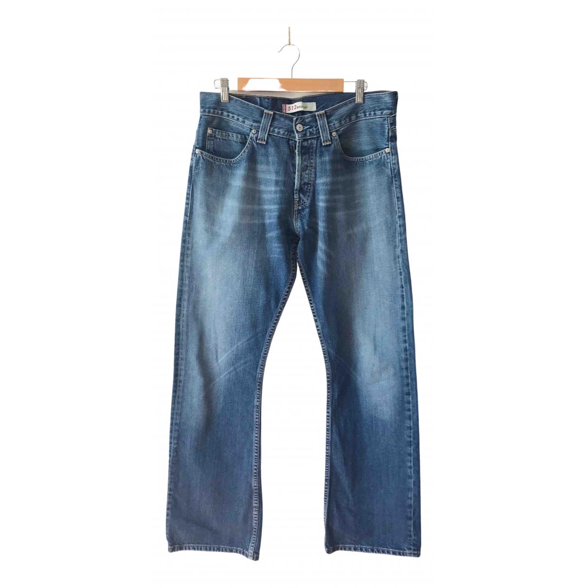 Levi's \N Blue Denim - Jeans Jeans for Women 38 FR