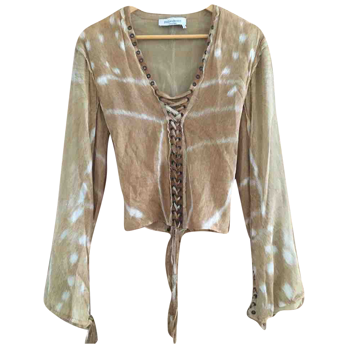 Yves Saint Laurent \N Beige  top for Women S International