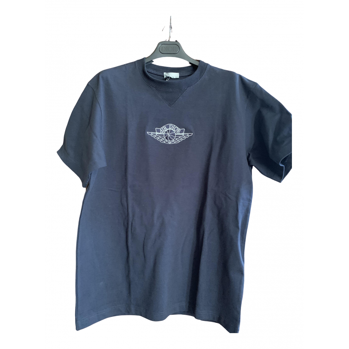 Jordan X Dior \N Navy Cotton T-shirts for Men M International