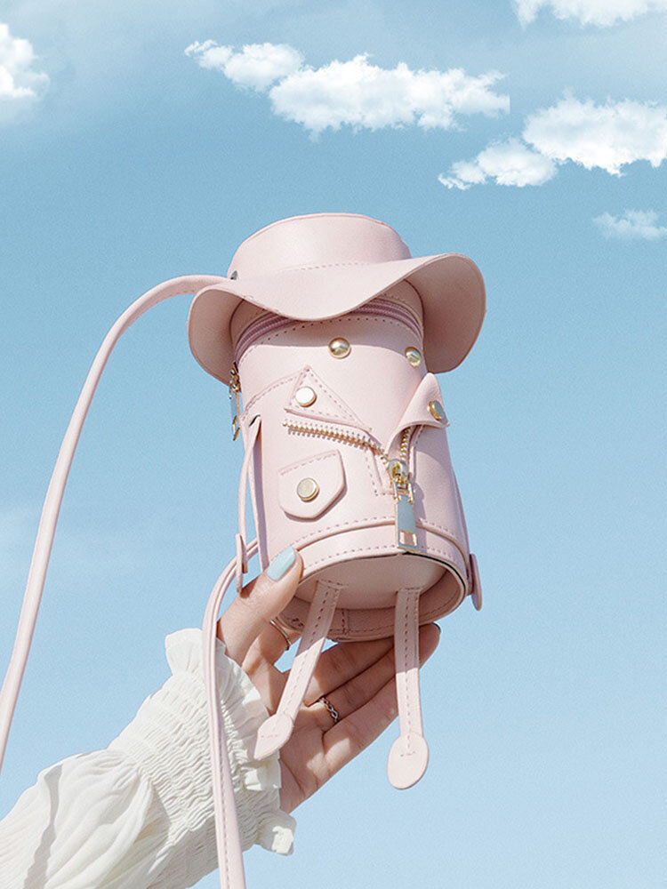 Women 6.3 Inch Cute Figure Phone Bag Crossbody Bag