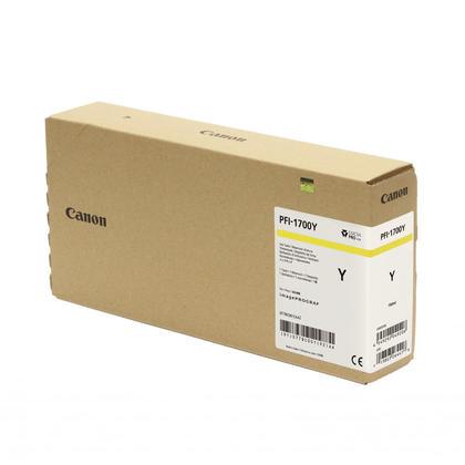 Canon PFI-1700 Original Yellow Pigment Ink Tank
