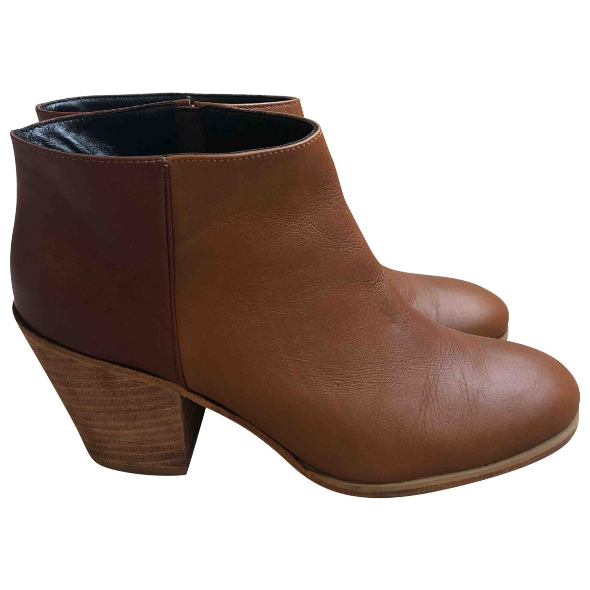 Rachel Comey \N Camel Leather Boots for Women 8 US