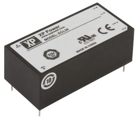 XP Power , 30W AC-DC Converter, ±15V dc, Encapsulated