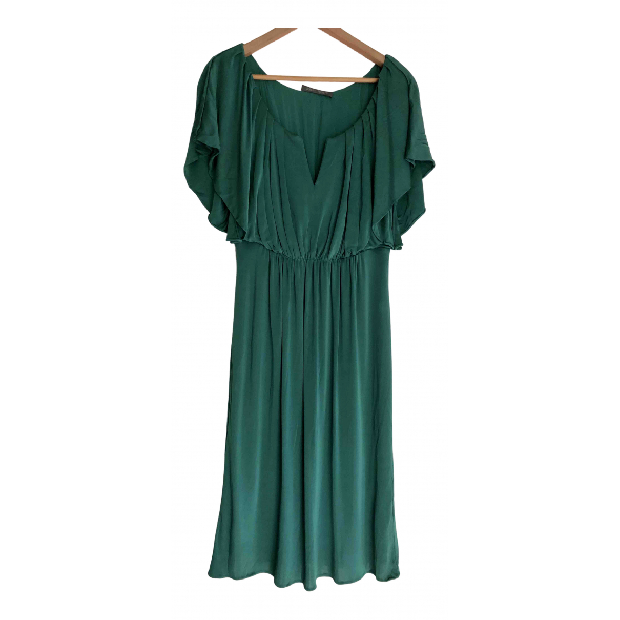 Alberta Ferretti \N Kleid in  Gruen Viskose