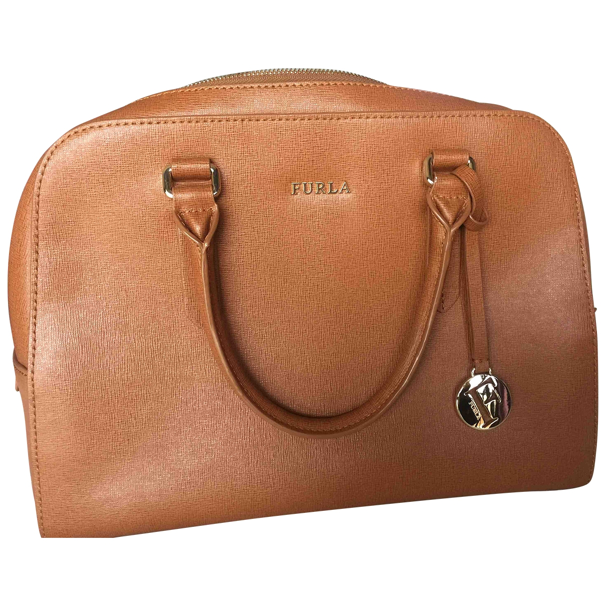 Furla \N Camel Leather handbag for Women \N