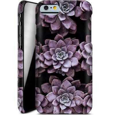Apple iPhone 6s Smartphone Huelle - Purple Succulents von caseable Designs