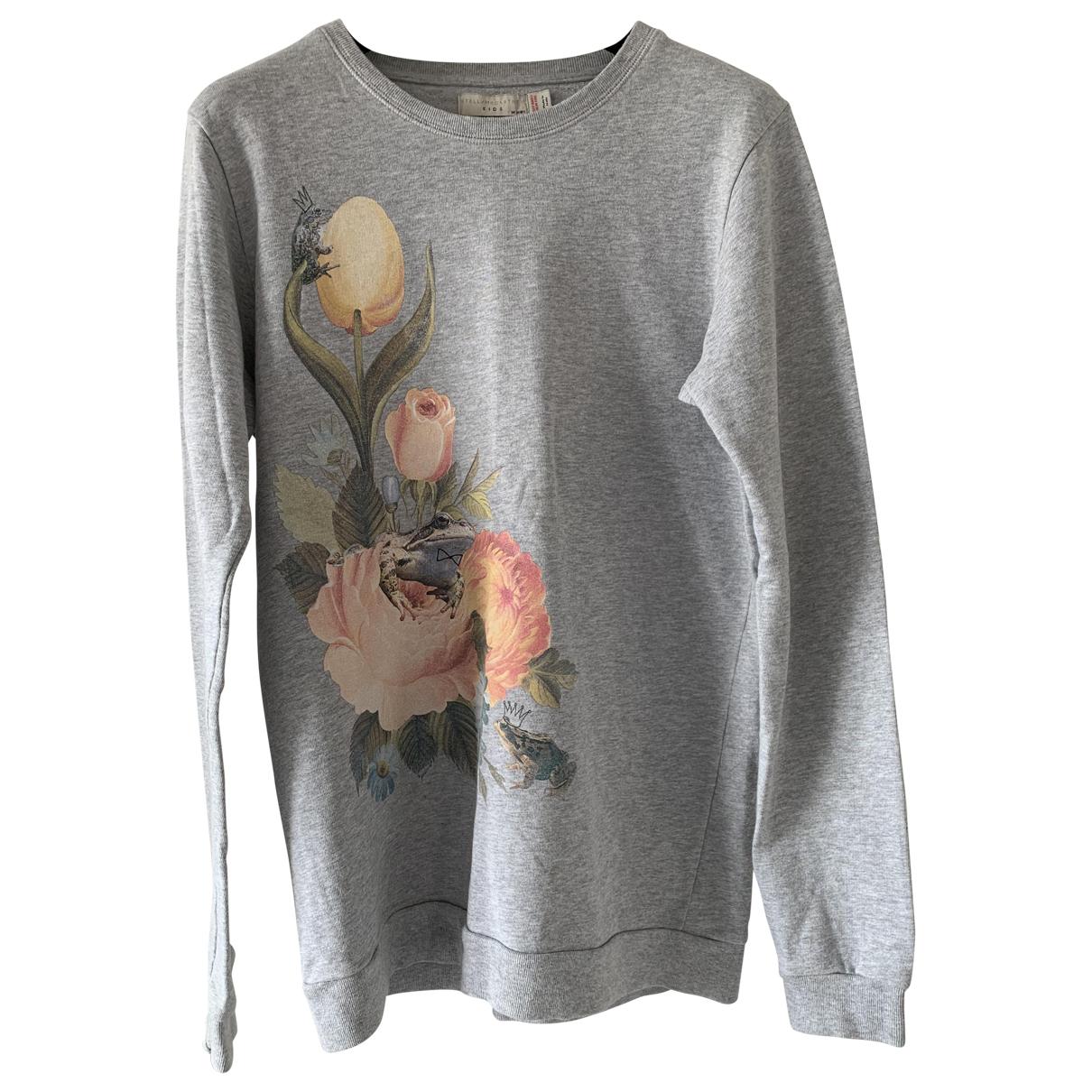 Stella Mccartney N Grey Cotton Knitwear for Kids 14 years - S FR